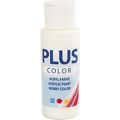 Plus color peinture acrylique, blanc cassé, 60 ml