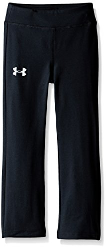Under Armour Toddler Girls' Yoga Pant, Black, 3T