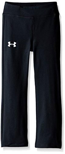 Under Armour Yoga Pant Pantalones, Negro, 38 para Niñas