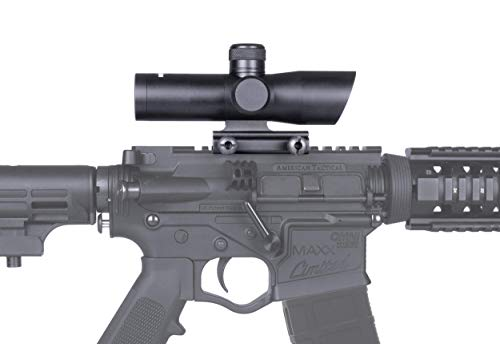 Monstrum Tactical Stealth Series 3X Magnification Rifle Scope (Black)