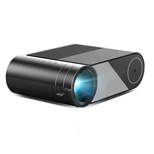 Mini 1280x720P Portable Video Beamer LED Projector for 1080P 3D 4K Cinema(Option Multi-Screen for phone) ( Size : Basic Version )