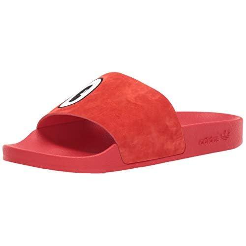 adidas Originals Adilette da Donna, Rosso (Active Rosso Bianco Nero), 36 EU
