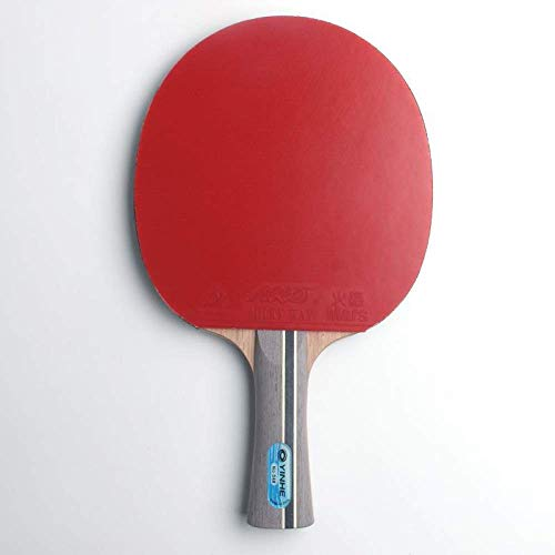 Zoharm Original Galaxy Yinhe 04b Tenis de Mesa Raquetas Hoja Con Espinillas En Goma Raquetas Ping Pong Paletas Madera Puro Para Loop Player