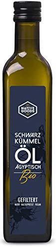 Schwarzkümmelöl BIO | ägyptisch - kaltgepresst - nativ - 100% naturrein | native goods - 500ml