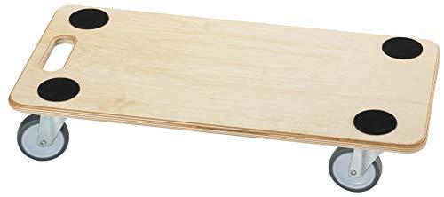 Dörner + Helmer Möbelroller (Stabil Soft 590 x 290 mm mit Gummirollen Tragkraft 200 kg) 290698