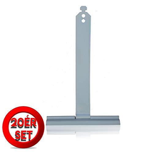 Rolladen Aufhängefeder Rollladen Halterung MAXI Kunststoffbeschichtet 20 Stück