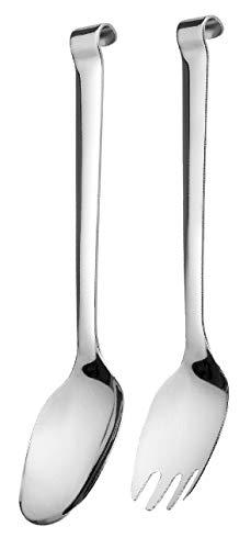 Comas Buffet Profi-Selection 4378PRO - Cubiertos para Servir Ensalada (2 Unidades, Acero Inoxidable 18/10, 25 cm)
