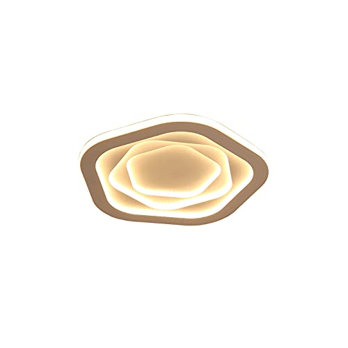 DEORBOB Lámparas de techo modernas montadas en superficie Sala de estar Dormitorio Lámpara redonda ultrafina Lámparas de acrílico Pantalla Personalidad creativa moderna Protección para los ojos Tabler