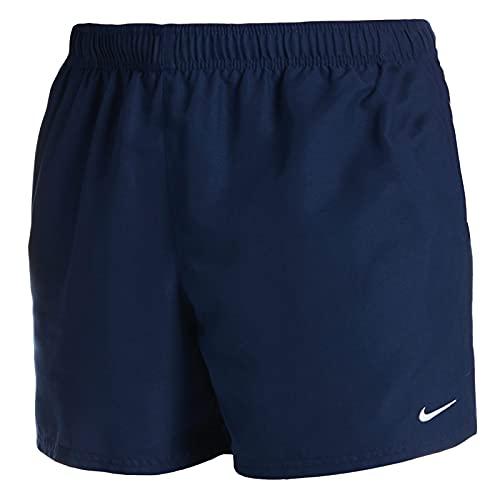 Nike 5 Volley Pantaloncini da Bagno da Uomo, Uomo, Costume da Bagno, NESSA560-440, Blu (Midnight Navy), L