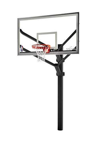 Spalding NBA Arena View H Frame In-Ground Basketball System