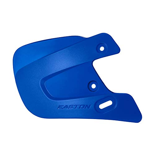EASTON EXTENDED JAW GUARD RIGHT-HAND BATTER ROYAL