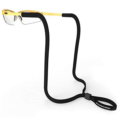STANDWERK® Basic Brillenband mit zuverlässigem Halt - Sportbrillenband verstellbar in der Größe - Sportband Brille wasserfest