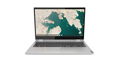 Lenovo Chromebook C340 2-in-1 Laptop, 15.6' FHD (1920 X 1080) Touchscreen Display, Intel Pentium Gold 4417U Processor, 4GB DDR4 RAM, 32GB SSD, Chrome OS, 81T90003US, Mineral Grey (Renewed)