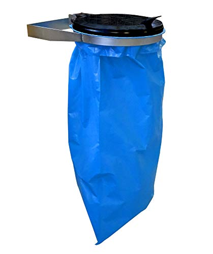 *QUICK STAR Müllsack Wandhalter 120 Liter Ständer Müllbeutelhalter Müllsackhalter Abfallbehälter Gelber-Sack*
