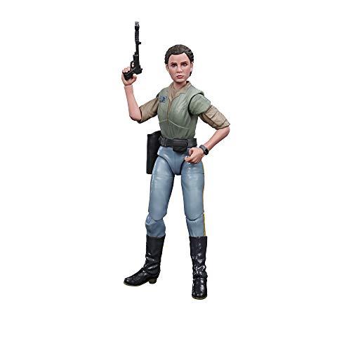 Star Wars- Black Series Figura Princesa Leia (Hasbro E93635X0)