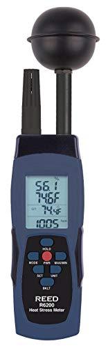 REED Instruments R6200 WBGT Heat Stress Meter