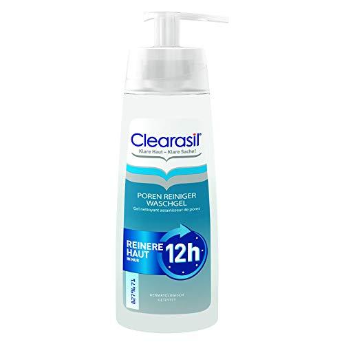 Clearasil Poren Reiniger Waschgel Gegen Pickel und Hautunreinheiten, 200 ml