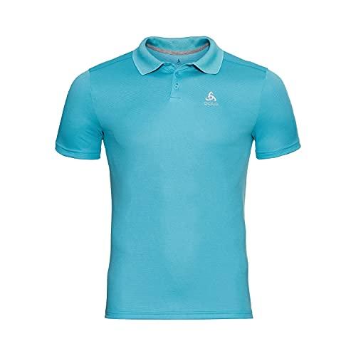Odlo Herren Polo shirt s/s F-DRY, horizon blue, M
