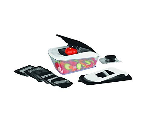 Easymaxx GOURMETmaxx Multi-Schneider Chop n Slice Pro 16-TLG. schwarz/weiß