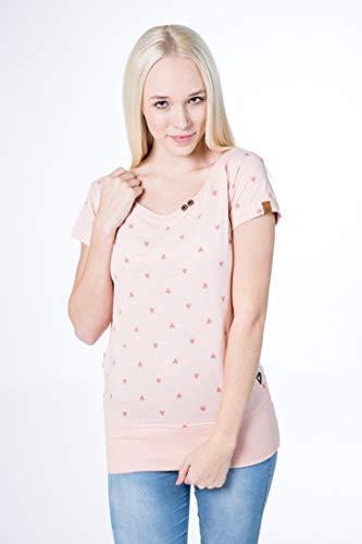 alife and Kickin Coco T-Shirt Damen Shirt, Candy AOP, M