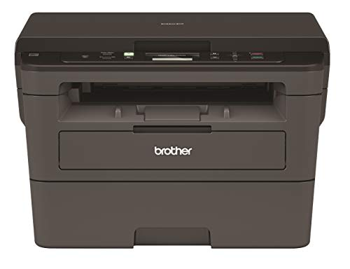 Brother DCP-L2531DW Multi-Function Monochrome Laser Printer with...
