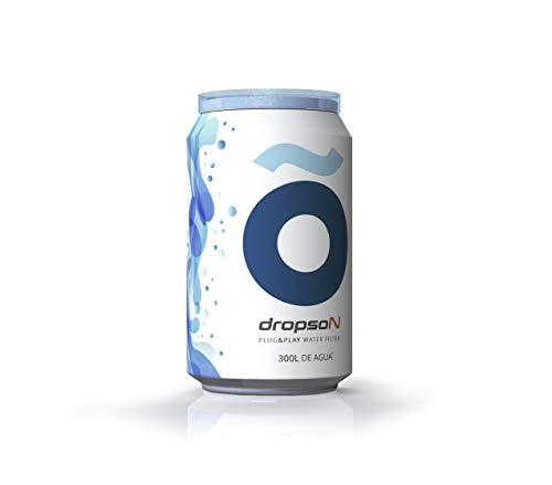 dropson Lata filtrante Filtro de Agua para Grifo, Membrana