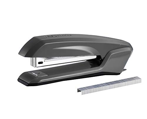 Bostitch Ascend 3 in 1 Stapler with Integrated Remover & Staple Storage, Gray (B210-GRAY)