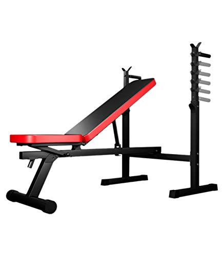 Grupo K-2 Wonduu Banco Plegable de Musculación Multifunción Acolchado | con Respaldo...