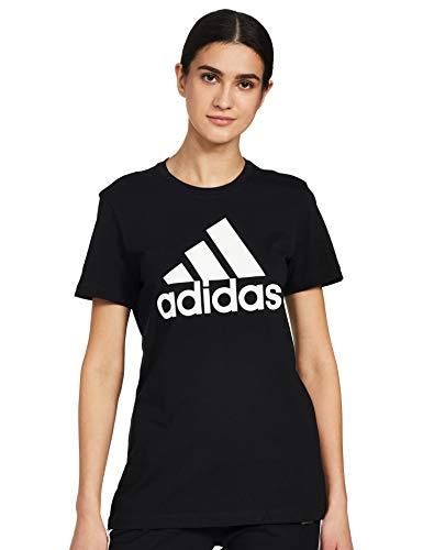 adidas Damen W BOS CO Tee T-Shirt, Black, L