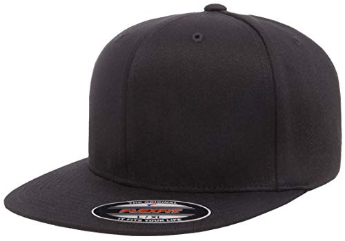Flexfit Men's Pro-Baseball On Field, Black, L/X-Large