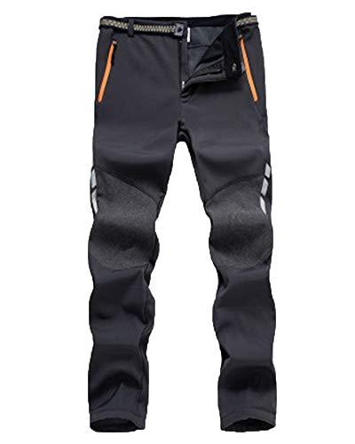 Ski Decathlon Trekking Baratos Hombre Decathlon Montaña Pantalones De Jogging A Prueba De Viento E Impermeable Gris 3XL