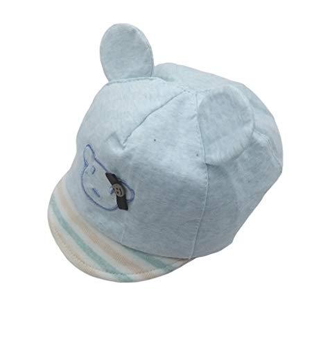 Goodforgoods Gorra Sombrero Beisbol Bebé 3-6 meses Niña Niño Infantil Lunares Oso Conejo Protección Solar Rayos UV Verano Playa 100% Algodón