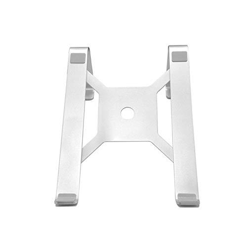 PPLAE Soporte portátil de aleación de Aluminio Astilla con Ventilador de refrigerador para portátil de 11 a 15 Pulgadas Soporte de Oficina Simple (Color : NO Fan)