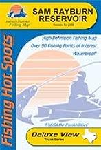 Sam Rayburn Reservoir Fishing Map (A435)