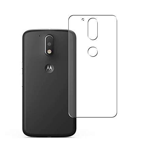 Vaxson 2 Unidades Protector de pantalla Posterior, compatible con Motorola Moto G4 / G4 Plus [No Vidrio Templado] TPU Película Protectora Espalda Skin Cover
