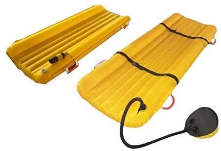 GLJY Aufblasbare Rettungsbahre, multifunktionale medizinische Rettungskorb für medizinische Notfälle. Aufblasbare Trage für Wasser- und Landrettung,Pedal Models