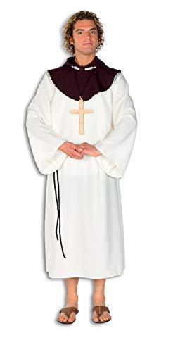 L33000480-60-62 beige Herren Geistlicher Mönchsgewand Gr.60-62