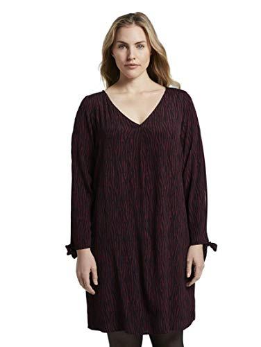 Tom TAILOR Damen Tunikakleid Kleid, Mehrfarbig (Mehrfarbig 20861), 50