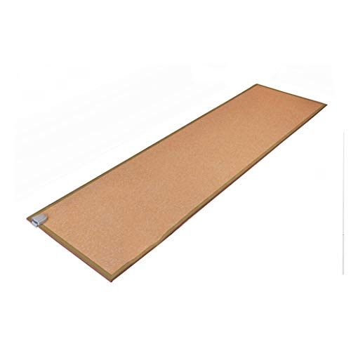 Jinxin-Heizung Bodenheizung Matte Carbon Home Wohnzimmer Hohe Temperatur Yoga Matte Elektrische Boden Teppich (200 * 53 * 0,8 cm) (Farbe : C)
