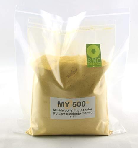 BRICO MARBLE CARE MARMOR POLIERPULVER MY-500 um das Polieren von Marmor und Naturstein undurchsichtig erneuern