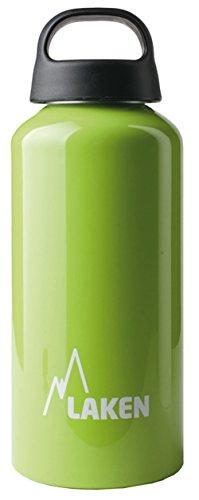 Laken Classic Borraccia di Alluminio Bottiglia d'Acqua con Apertura Ampia e Tappo a Vite con Impugnatura, 0,6-1L