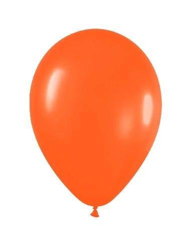 Sempertex - Bolsa de 50 globos sempertex r9 de 22.5 cm color fashion sólido naranja (061)