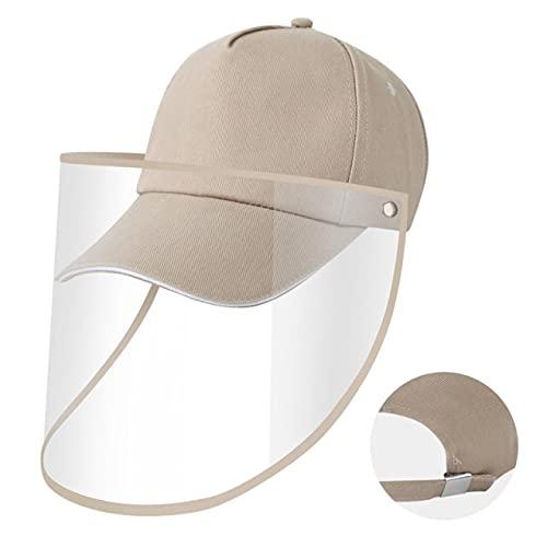 Shihuawu Sombrero para el Sol, Sombrero para Gafas con protección UV, Sombrero para el Sol de béisbol de ala Ancha para Mujer, Verano Informal unisex-D17-Talla única-G0068