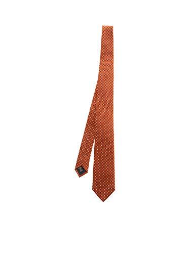 Z ZEGNA Luxury Fashion Herren Z7D071L7AORANGE Orange Seide Krawatte | Frühling Sommer 20