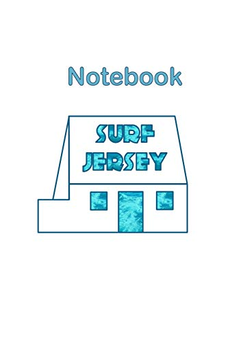 Surf Jersey Channel Islands White House Notebook: Historic heritage iconic landmark in St Ouen's Bay, loved by the surfing community, part of National ... boxes to organise and refer to notes easily.