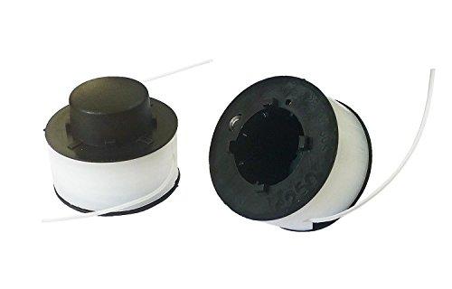 2x Ersatzspule Spule Ø1,2 Fadenspule für Rotenbach RRA-002 Gartentrimmer