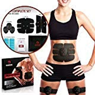 Magnum Wellness Muscle Toner - Unisex Abs Toning Belt for Abdominal, Arms, Legs & Waist Muscles - with 10 Extra Get Sheets...