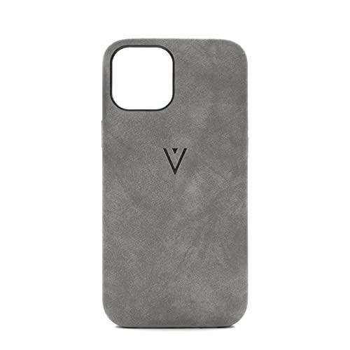 ENVLOP SandGripz V2 Hülle | iPhone 12 Pro Max Hülle aus hochwertigem Kunstleder - Grau