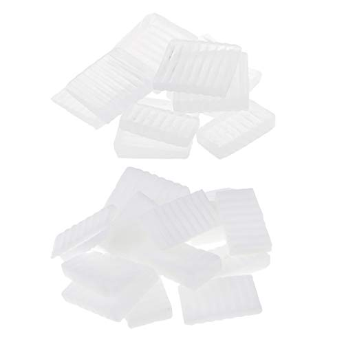 kokiya 2.2 Lbs Pure White Smelten En Giet Glycerine Zeep Base Clear Soap Base voor DIY Handgemaakte Zeep Maken Ambachten Smelt En Verhardt Snel