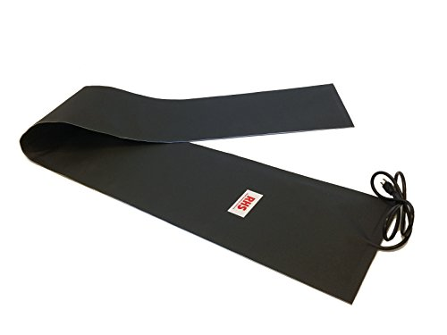 RHS Snow Melting System, roof and valley snow melting mats, Sizes 10' feet x 13' inches, Color black, UL components, 10ft. mat melts 2' inches of snow per hour, buy factory direct, (10' ft. x 13' in.)